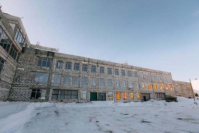 февраль 2019, стройка школы