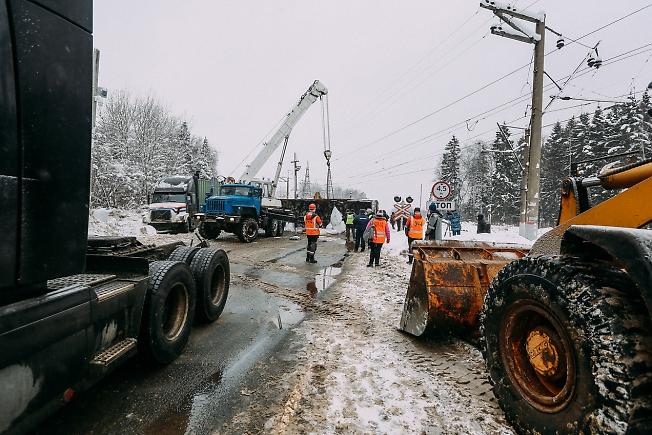 январь 2019, ликвидация аварии