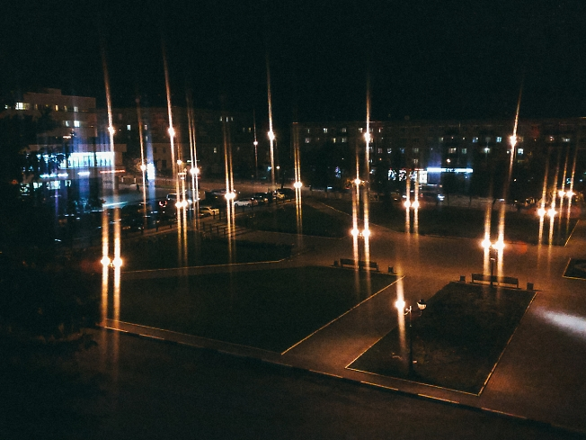 сентябрь 2019, Советская площадь вечером