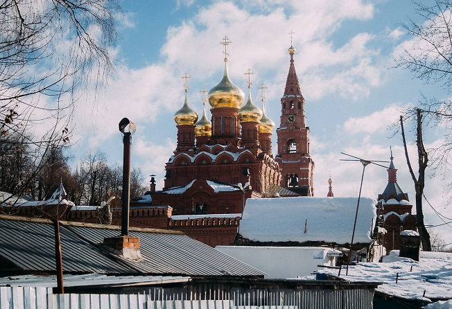февраль 2019, Черниговский скит