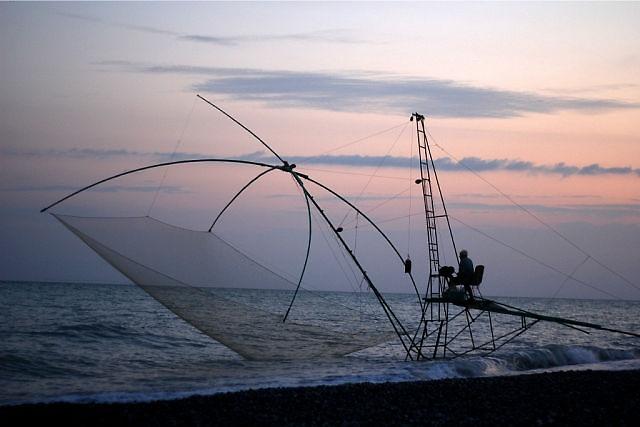 Рыбак..