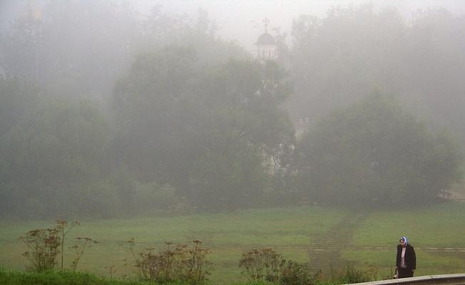 Еще одно утро на Блинной горе.