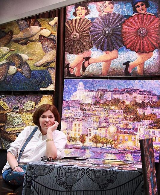 Кабанова Ирина,писательница картин.