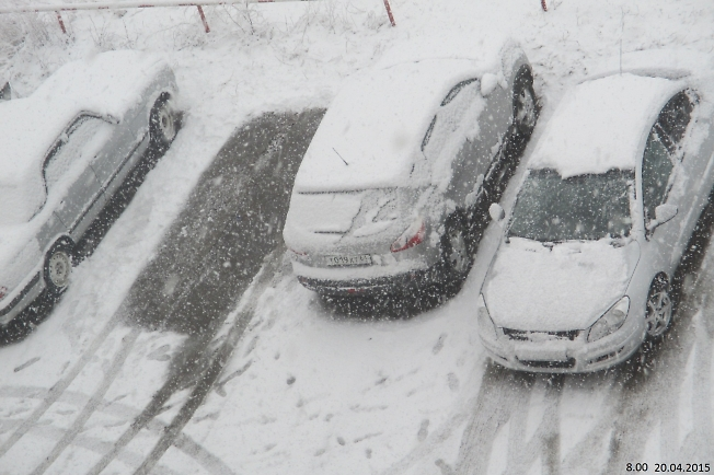 Зима не даром злится........