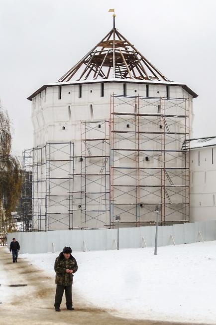 Ремонт Пятницкой башни