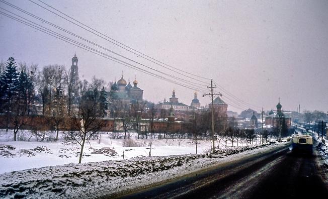 Загорск 20 марта 1964 года
