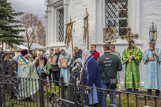 Празднование в честь Казанской иконы Божией Матери в селе Шеметово