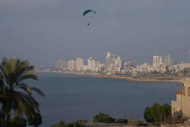 Вид Тель Авива из Яффы.