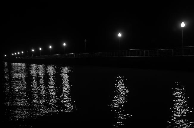 Ночной пирс
