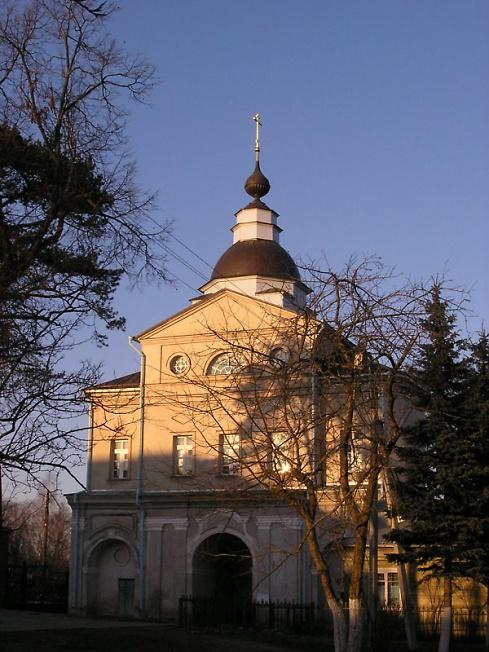 Северные ворота. Покровский Хотьков монастырь