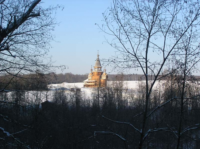 Храм на источнике Гремячий ключ