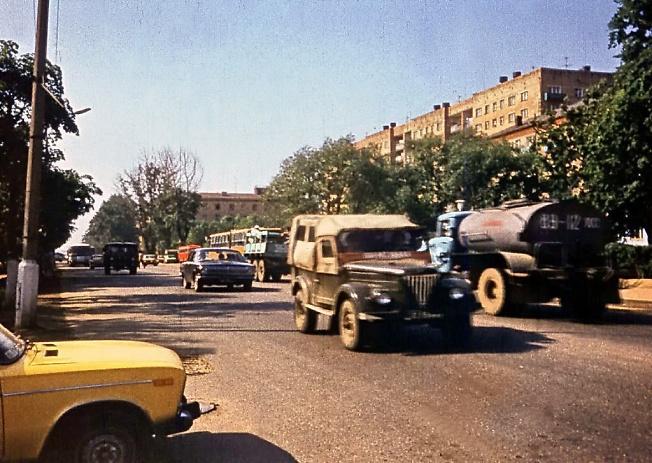 Проспект Кр. Армии на пересечении с Воробьевской