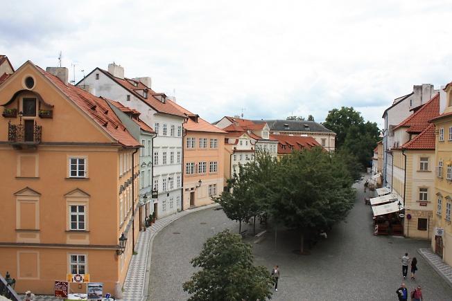 Прага. Улица