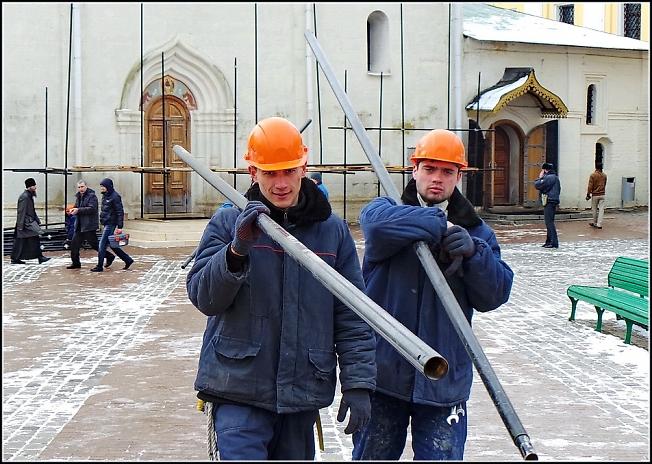 Реставрация Троицкого собора 2
