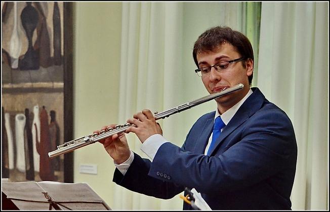 Флейтист Сергей Журавель