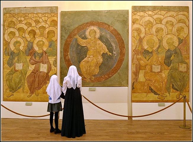 В музее Рублева 3