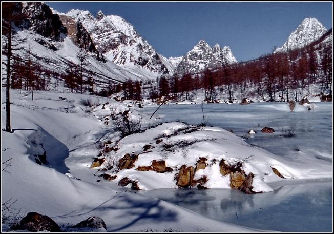 В горах Кодара