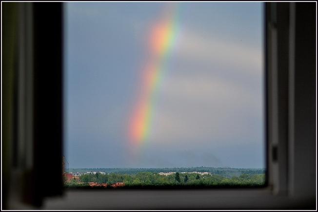 А потом была радуга