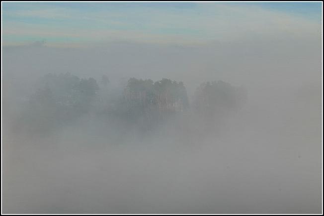 Туман пришел с Глинково