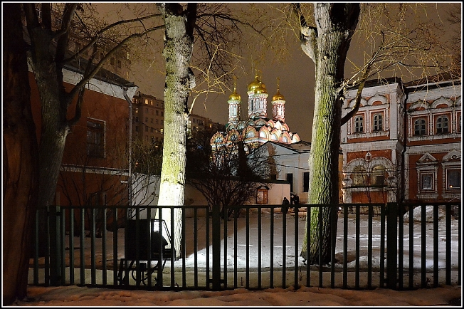 На берегу Москвы-реки