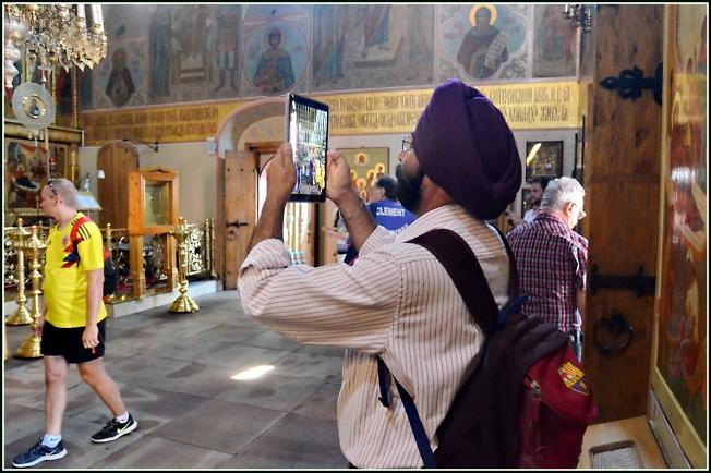 В Казанском соборе на Красной площади