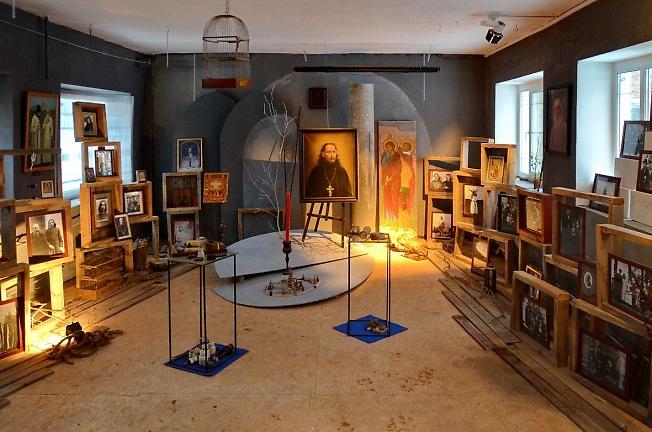 В Сергиево-Посадском музее Павла Флоренского