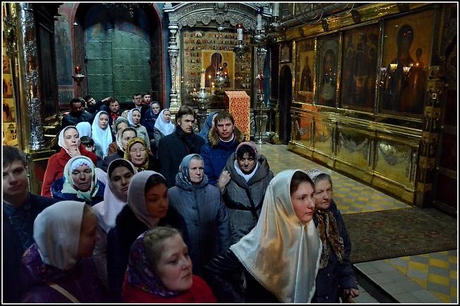 Старообрядцы РПСЦ в Троицом соборе