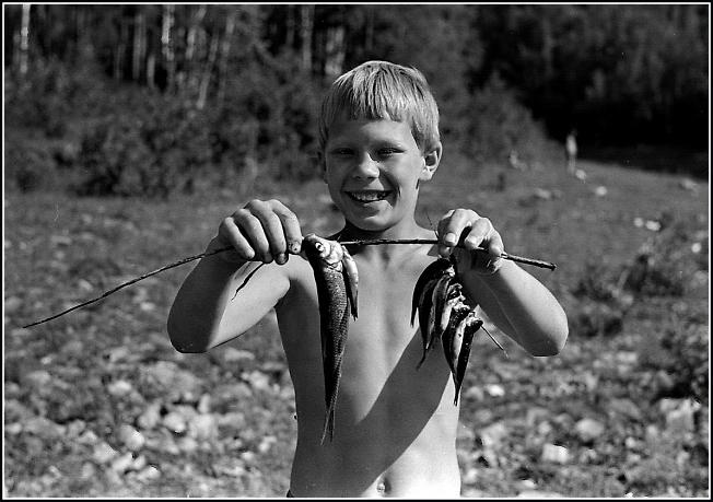 На рыбалке, Тында, БАМ