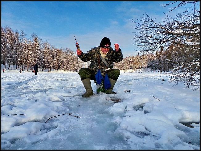 """Фестиваль зимней рыбалки """"Мормышка"""" на Скитских прудах"""