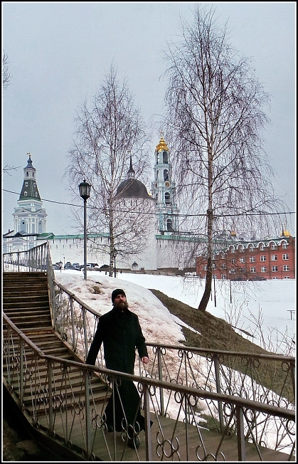 На пути к источнику прп. Саввы Сторожевского