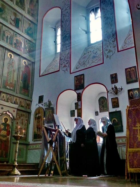 Великий Четверг, церковь святителя Николы на Берсеневке