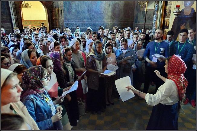 В Троицком соборе