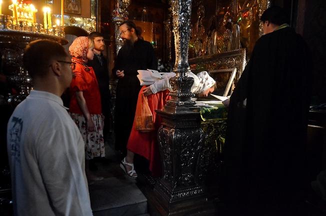 Преподобный отче наш Сергие, моли Бога о нас!