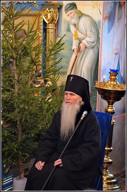 Архиепископ Евстахий /Евдокимов/ на Рождественском концерте