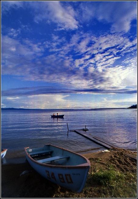 На озере Арахлей в Забайкалье