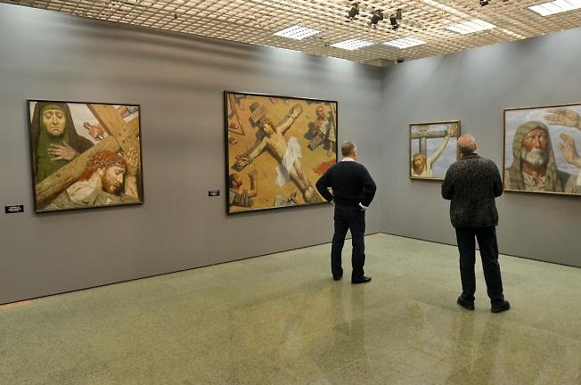 Выставка числа
