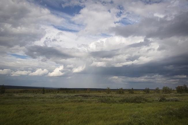 Бегущие облака