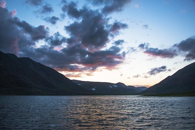 Озеро Колокольня. Белая ночь