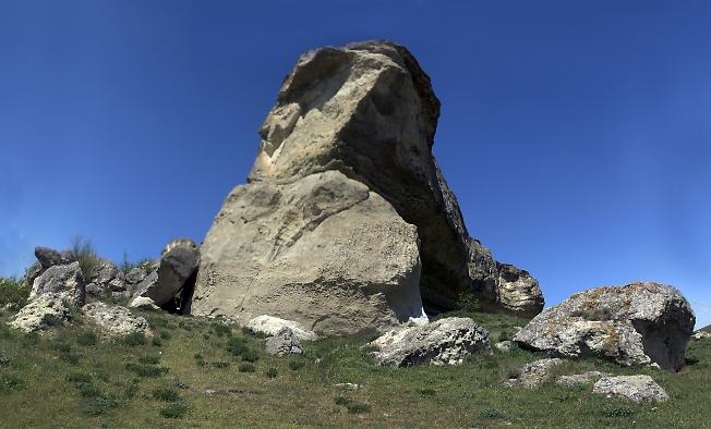 Фрагмент Белой скалы
