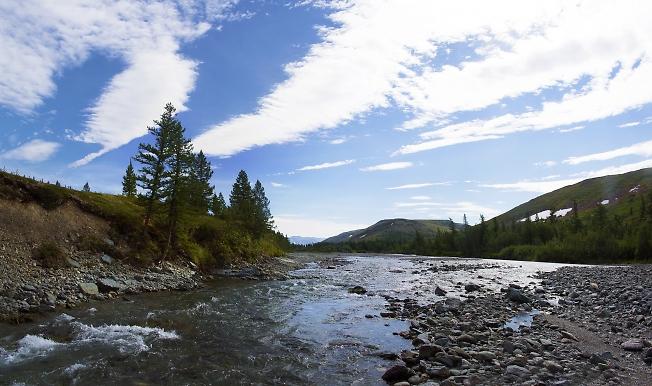Река Северная Чигимхарута