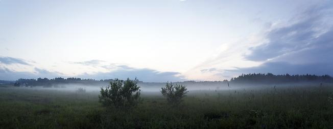 Туман после заката