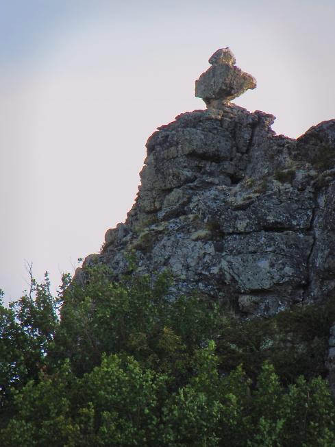 Скалы Тумбялавы. Наполеон