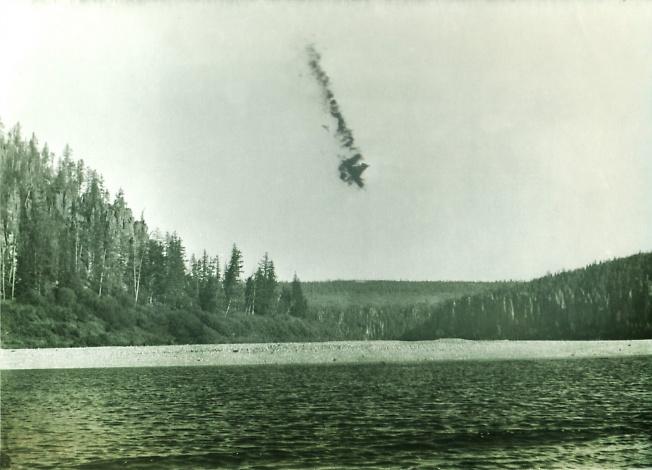 След Тунгусского метеорита