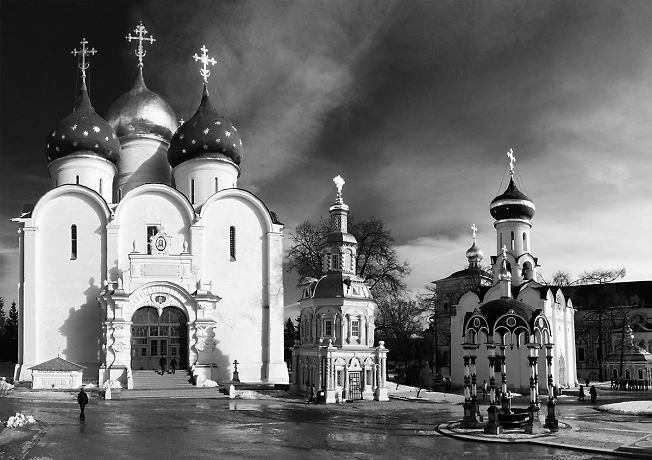 Март в Троице-Сергиевой лавре
