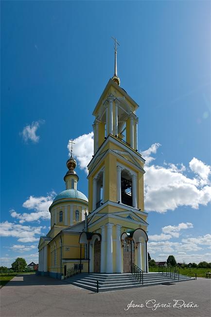 Церковь Святителя Николая Чудотворца в Бужаниново (3)