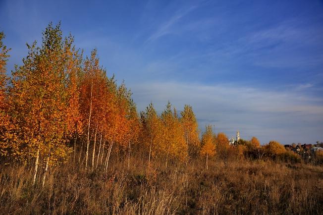 Осень у Троицкой слободы