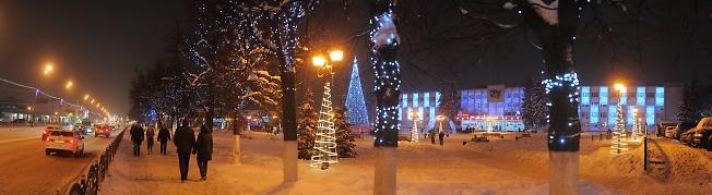 Новогодний Сергиев Посад