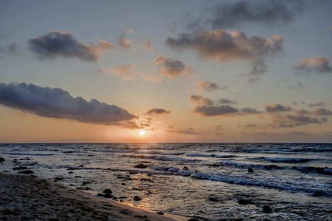 Утро в Мексиканском заливе...