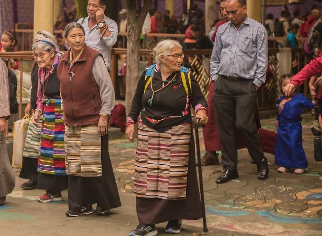"""Тибеские женщины(из серии""""ТИБЕТ в изгнании"""")"""