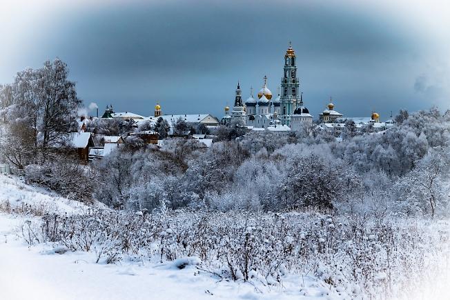 Зима и СЕРГИЕВ ПОСАД